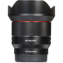 Samyang AF 14mm f/2.8 FE Lens for Sony E Black