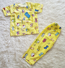 Cottongrass Motif Hello Kitty Anak Yellow
