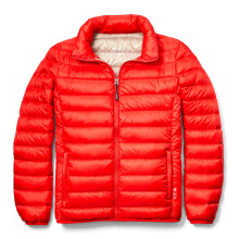 TUMI Clairmont Packable Travel Puffer Jacket - Sunset