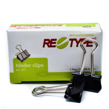 RE-TYPE Binder Clip No. 107