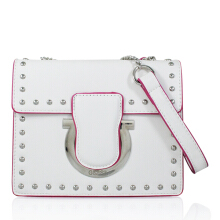 Gosh Lunaria-311 Rosa Sling Bag White