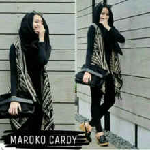 Maroko Cardy - Grey - All Size