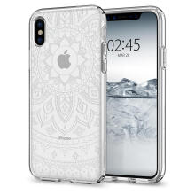 Spigen Liquid Crystal Shine Case for iPhone X - Crystal Clear