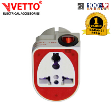 VETTO OVERSTEKER SWITCH V 801 1 PCS