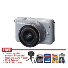 Canon EOS M10 Kit 15-45mm IS STM Gray