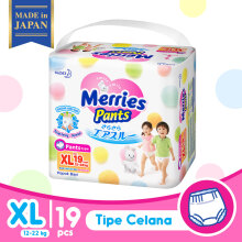 MERRIES Premium Popok Pants XL - 19