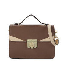 Les Catino Gwener Top Handle Toffee Brown