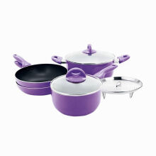 SUPRA Rosemary Cookware Set Panci Teflon 7 Pcs