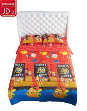 NYENYAK Pirates Fitted Sheet / Comforter - KING/QUEEN/SINGLE