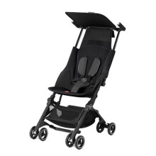 GB Pockit Plus Stroller Monument - Black Black