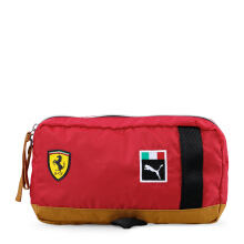 PUMA SF Fanwear Waist Bag - Rosso Corsa-Black [One Size] 7550201
