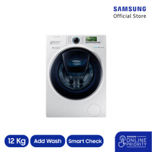 SAMSUNG Mesin Cuci Front Loading 12KG WW12K8412OW/SE [SAMSUNG ONLINE PRIORITY]