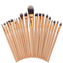 BL 20pcs Makeup Brushes Eye Shadow Lipstick Eyeliner Brush Set Tools -