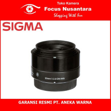 SIGMA 30mm f/2.8 DN | A For E-Mount Black