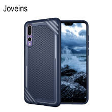 JOVEINS HUAWEI P20 Pro Shockproof Phone Case Rugged Hybrid Hard PC Soft Silicone Full Body Protective Phone Cover