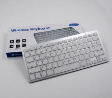 Wireless Keyboard Bluetooth Putih