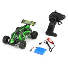 COZIME UJ99-2810B 2.4G 1/18 15KM/H High Speed Racing Car Climbing RC Off Road Truck Green