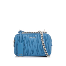 Pre-Owned Miu Miu Matelasse Shoulder Bag