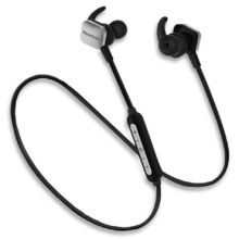 Newmine N-105 Sport fitness Wireless Bluetooth In-ear headset For Apple Android phones and IPAD -Black&Silver