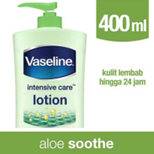 VASELINE Intensive Care Aloe Soothe Hand & Body Lotion 400ml