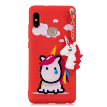 MOONMINI Soft TPU Cartoon Lovely Phone Case for Xiaomi Mi 6X Redmi Note 5 Pro