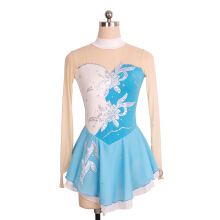 Outdoor520 Figure Skating Dress Costume Ice Skating Gymnastics Girl  Blue