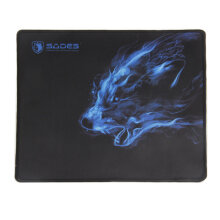 [COZIME] Large Size Thick Gaming Mouse Pad Trendy Anti-Slip Notebook Computer Mouse Pad black