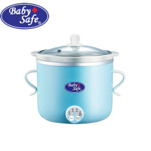 Baby Safe LB 007 Digital Slow Cooker 0.8 L (Biru)