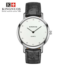 KINGNUOS fashion men and women couples quartz waterproof watch men's wristwatch clock relogio masculino