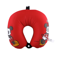 DISNEY Neck Cushion Icon Mickey and Minie - Red