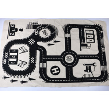 JDWonderfulHouse Children Kids Room Game Play Mat Baby Crawling Rug Carpet Cotton Floor Blanket Road