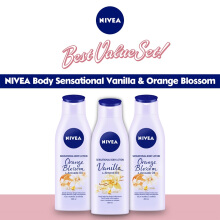 NIVEA Body Sensational Vanilla & Orange Blossom  - Best Value Set