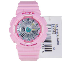 Casio Baby-G BA-110CA-4ADR Water Resistant 100M Resin Band Pink
