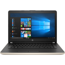 "HP 14-bs753TU 14"" HD/Intel Celeron N3060/4GB/1TB/Integrated Graphics/WIN 10 Home - Gold"