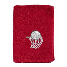 TERRY PALMER Sport Towel Basketball 40x110cm - TE3756H1-50NE4-NRE - Red