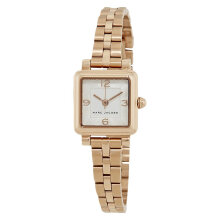 Marc Jacobs Vic MJ3530 Silver Dial Rose Gold Stainless Steel Strap [MJ3530]