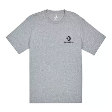 CONVERSE  Left Chest Star Chevron Tee - Vintage Grey Heather