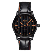 Mido M005.430.36.051.80 Multifort Automatic Black Dial Black Leather Strap [M005.430.36.051.80]