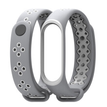 Mijobs -  Miband 3 Silicone Sport Strap