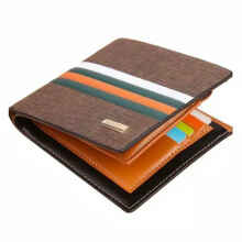 Bogesi green line Men's Original Imported Leather Wallet New Business Casual Clutch Large Capacity Bogesi green line Men