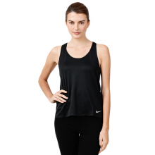 NIKE As W Nk Run Tank - Black/Black