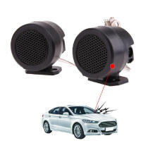Farfi 2Pcs 500W Universal Stand Dome Audio Loud Speaker Amplifier Auto Car Tweeter as the pictures