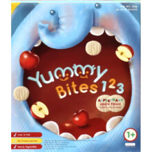 Yummy Bites for Toddler 123 Applephant 12M+ - Apple Flavor