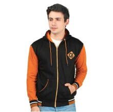 CBR SIX - SWEATER PRIA KASUAL - IKC 350 - HITAM SIZE- ALL