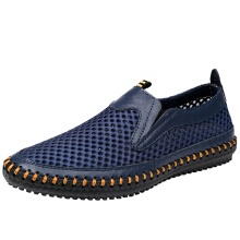 Zanzea US Size 6.5-12 Mens Breathable Mesh Sweat Absorption  Slip On Oxfords Flats