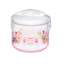 (CLEARANCE) Sanken SJ-638 Rice Cooker Tradisional 1.8 L - Pink