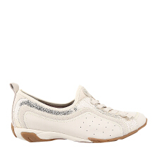 Hush Puppies Qualify in Off White Nubuck/Pearl KB40733OW050
