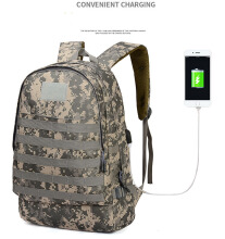 Mainland Tas Ransel Army Military Tactical Ransel Backpack USB Charger Rucksack Trekking PUBG Original Import TCR08