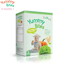 Yummy Bites Baby Rice Cracker 50 gram (Vegetables)