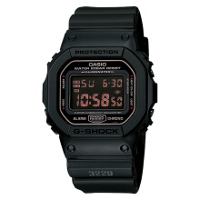 Casio G-Shock DW-5600MS-1DR Men Digital Dial Black Resin Strap [DW-5600MS-1DR]